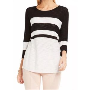 🆕 TWO BY VINCE COLORBLOCK KNIT TOP